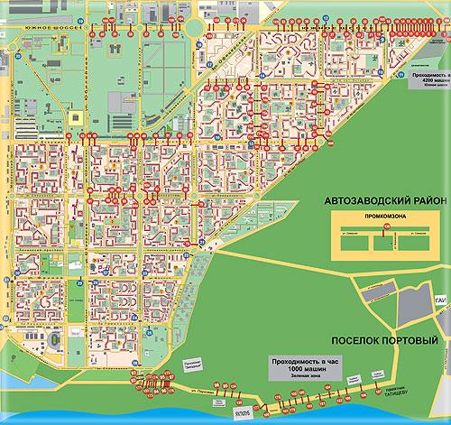 Торговые точки Тольятти